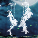 Handcraft Dream Catcher With Feathers Bead Wall Hanging Decorations Ornament