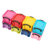 Colorful Mini Jewelry Box Cubic Earrings Necklace Accessories Container Portable Case Storage Box