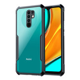 Bakeey For Xiaomi Redmi 9 Case Armor Bumper with Lens Protector Anti-fall Transparent Acrylic + Soft TPU Edge Protective Case Non-original