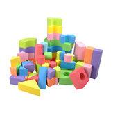 50 Pz Soft Leggero EVA Schiuma Assemblato Mattoni Modello DIY Creativo Building Blocks Bambini Giocattoli Educativi