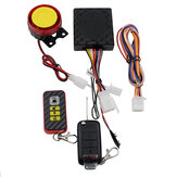 12V 128DB SIngle Way Remote Engine One-button Starter Motorcycle Scooter Security Alarm System Anti-theft