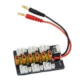 5pcs 1S-3S XT30 LiPo Batería Adaptador de carga paralelo Tarjeta de expansión con enchufe de cable equilibrado