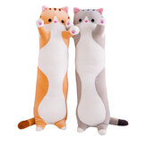 110/130cm Cute Plush Cat Doll Soft Stuffed Pillow Doll Toy for Kids