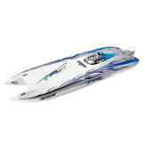 TFL 1133 1040mm Zonda 2.4G RC Boat Double Brushless Motor 120A ESC without Battery Servo Transmitter Charger