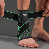 JINGBA SUPPORT Ankle Support Sport Protector Ankle Brace Nylon Strap Belt Basketball Football Foot Protective for Adult