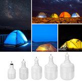 20W / 40W / 80W / 100W / 150W DC5V charge 5 modes de fonctionnement de l'ampoule LED avec câble USB pour une utilisation en camping en extérieur
