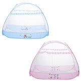 Opvouwbare Babybed Luifel Veiligheidstent Mesh Wieg Cover Schattige Dieren Gedrukt Babybed Tent Klamboe Voor Kinderen Slaapkamer