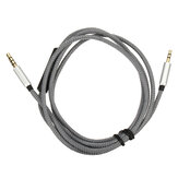 3.5mm to 2.5mm Replacement Headphone Cable Remote Microphone Mic for Bose Quiet Comfort 25 35 QC25 QC35 Headphone