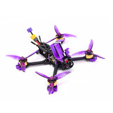 Eachine LAL 5style 220mm 4S Freestyle 5 بوصة FPV Racing Drone PNP / BNF F4 بلوتوث FC Caddx Ratel 2307 2450KV Motor 50A Blheli_32 ESC