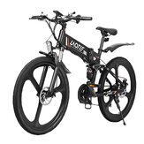 LAOTIE® PX7 48V 10Ah 350W 26in Folding Electric Moped Bike 35km/h Top Speed 80km Mileage E-Bike Mountain Bicycle