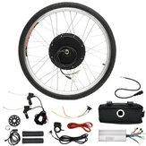 LCD + 48V 1000 W 26 pollici Hight Speed Scooter Elettrico per biciclette E-bike Kit di conversione del motore del mozzo