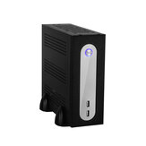E-MINI E-G3 Mini PC Caso Chassi Mini-ITX HTPC caso Do Computador USB 2.0 3.5 '' HDD SGCC 0.5mm caso ITX para Motherboard Universal