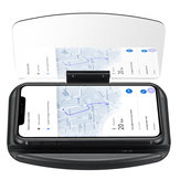 Qi Wireless Charger Fast Charging Car Hub Head-up Navigation Display Phone Holder For iPhone Samsung Huawei Xiaomi Non-original