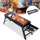 60x23x33cm fer pliant barbecue barbecue Patio Barbecue charbon de bois poêle en plein air Camping pique-nique outils de cuisson