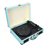 B32603 bluetooth Wireless 3 Speed Vinyl Record Player Turntable Retro 2 Speakers Case