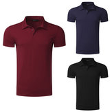 Men's Shirts Quick-Drying Breathable Running Hiking Beach Outdoor Ball Game Casual Clothing