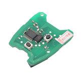 Placa de circuito chave do PWB de 3pcs 433MHz remoto para Peugeot 307 / Citroen 73373067C