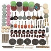 161UNIDS Mini Taladro Conjunto de Accesorios para Herramientas Rotatorias Kits de Pulido Molienda para Dremel