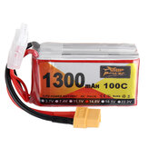 ZOP Power 14.8V 1300mAh 100C 4S Lipo Batterie XT60 Stecker für RC Racing Drone