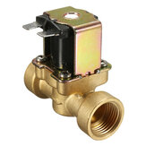 220V 2 Way Normally Closed Brass Electric Solenoid Valve for Air Water Valve