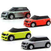 Turbo Racing ohne Sender 1/76 2.4G 2WD Vollproportionalsteuerung Mini RC Car LED Light Vehicles Modell Kids Toys