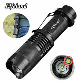 Elfeland Telescopic XPE Q5 500LM 7w 3 Modes + Zoomable LED Flashlight