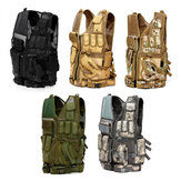 Multifunctional Outdoor Hunting Tactical Vest CS Military Protective Armor With Holster