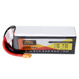 ZOP POWER 22.2V 4500mAh 65C 6S Lipo Batteria Con spina XT60