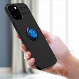 Bakeey для iPhone 12 Pro/12 Чехол Вращающийся на 360º магнитный держатель кольца Soft Силиконовый Противоударный Protective Чехол Задняя крышка