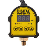 Controlador automático de pressão digital ON OFF Switch 220V para bomba de gás Water Ail
