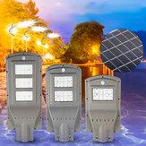 20 Вт 40 Вт 60 Вт LED Солнечная Питание На открытом воздухе Уличный свет PIR Движение Датчик Лампа