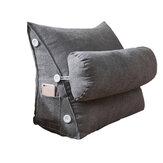 Cuscino a cuneo posteriore regolabile Soft Cuscino per schienale a lettura Cuscino per schienale a triangolo per divano letto Riposo per sedia da ufficio