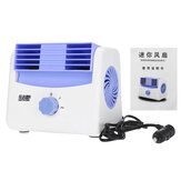 5/12/24V Mini Cooling Fan 2 Gears Portable Air Conditioner Cooler Car Auto Truck Vehicle