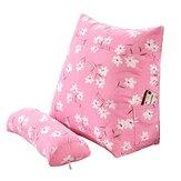 Cuscino per la lettura della finestra a bovindo in cotone e cotone Cuscino per cuscino in lino in poliestere Collo Supporto