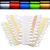 20 PCS Imperméable à l'eau COB Injection LED Module Strip Light Fenêtre Store Front Lighting Lampe DC12V