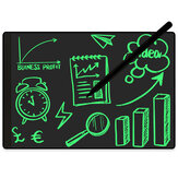 NUSITE 9.5 Inch Full Screen LCD Writing Board With Magnetic Stylus Monochrome Ultra Narrow Border Doodle Drawing Board Business Stationery Gift