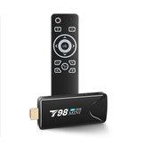 T98 Mini Rockchip RK3318 Quad-core 2GB RAM 16GB ROM 2.4G 5G WiFi bluetooth 4.0 Android 10.0 4K H.265 VP9 HDR TV Stick Smart TV Box