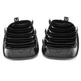 Para kratki nerkowej z czarnym obrzeżem ABS dla BMW E87 1 Series 08-13