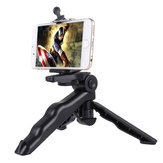 PULUZ Grip Folding Tripod Mount with Adapter Screws for Gopro SJCAM Yi Action Camera