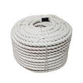 8 Mm 1M/2 M / 3 Meter / 4 M / 5 M Macrame Touw Twisted String Katoenen Koord Voor Handgemaakte Natuurlijke Beige Touw Diy Thuis Bruiloft Accessoires Gift