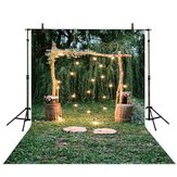 5x3ft 7x5ft 9x6ft E71508 Ethylene Propylene Lawn Flower Forest Wedding Photography Backdrop Photo Background