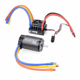 Surpass Hobby ROCKET 4068 2650KV 2050KV 1700KV Brushless Motor 120A Brushless ESC Power Set For 1/8 RC Car Model Parts