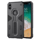 NILLKIN Shockproof Anti-scratch  Soft TPU + Hard PC Back Cover Protective Case for iPhone XS MAX