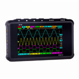 MINI DS213 Digital Storage Oscilloscope Portable 15MHz Bandwidth 100MSa/s  Sampling Rate 2 Analog Channels+2 Digital Channels 3 Inch Screen With Logic Trigger