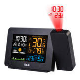 Bakeey Multifunctional Weather Forecast Temperature and Humidity LCD Display Weather Station Alarm Clock For Smart Home