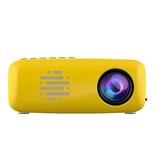 99 Lümen LCD NR18 Projektör LED Ev EğlenceÇok fonksiyonlu Mini Taşınabilir Erken Eğitim Projektör Sınır Ötesi Ticaret için