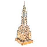 Bâtiment commercial 3D / modèle d'assemblage en bois de sainte église pour des jouets d'enfants