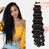 9 Warna Crochet Box Braids Hair Bundles Chemical Fiber Little Braid Ponytail Hair Ring