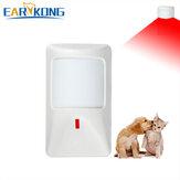 EARYKONG有線PIR赤外線行動探知機ペット免疫赤外線探知機ホーム盗難GSM警報システム