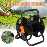 Garden Water Pipe Hose Reel Cart Outdoor Cleaning Irrigation Organizer Holder